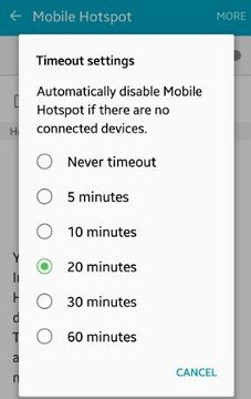 screen turns off when watching video android