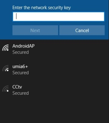find a network security key